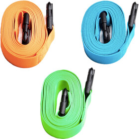 Swimrunners Guidance Pull Belt Cord 3-delige Set, neon green/blue/orange